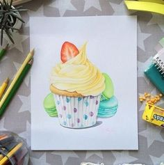 #dessiner #wall #cupcakes #Best #cupcakes #drawing Best cupcakes