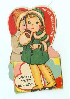 Vintage WatchOut FoldOut PopUp DieCut by FairOaksAntiques on Etsy, $9.99