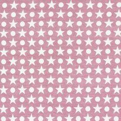 Jersey Stars Dots 1 - altrosa - Sonstige Kinderstoffe - Weitere Jerseystoffe - Jerseystoffe Punkte - stoffe.de