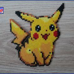 Pikachu unitaire en perle hama mini