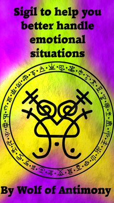 Sigil to help you better handle emotional situations