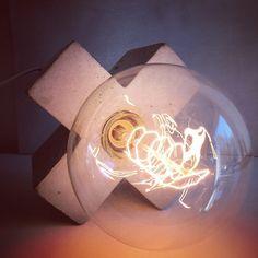 X #concretelamp #concrete #concretedesign #concreteinterior #madeinnorway…