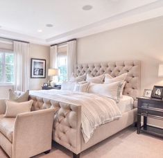 Traditional Bedroom Design You Can Copy At Your Own Room Winter Bedroom Decor, Home Decor Bedroom, Bedroom Furniture, Bedroom Ideas, Bedroom Retreat, Bedroom Décor, Bed Room, Elegant Home Decor, Affordable Home Decor