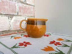 Vintage pottery jug East Germany Steingutfabrik от DelicateRetro