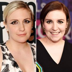 New Hair 2015: See Celebrity Hair Makeovers! - Lena Dunham from #InStyle