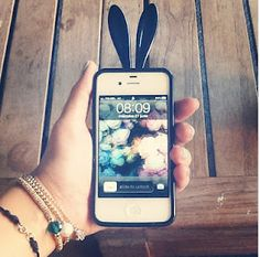 Bunny ears on your phone!  #iphone #iphonecase #accesories
