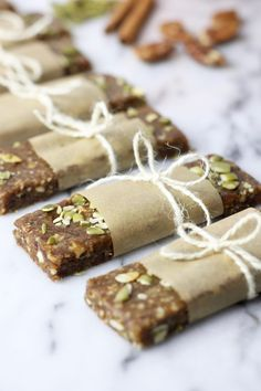 Pumpkin Spice Protein Bars | The Real Food Dietitians | http://therealfoodrds.com/pumpkin-spice-protein-bars/