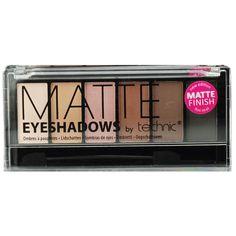 Η Technic Matte 6pc Eyeshadow είναι μία κασετίνα σκιών, που περιλαμβάνει 6 ζεστές αποχρώσεις σε nudeκαι καφέ τόνους. Ξεχωρίζουν για την ματ υφή τους που δίνει ένα τέλειο φινίρισμα στο μακιγιάζ των ματιών σας. Η κασετίνα περιέχει και πινελάκι εφαρμογής διπλής όψης.Περιεχόμενο: 6