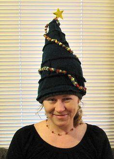 Christmas tree hat!