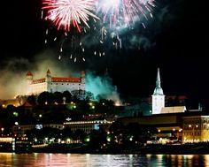 Aňo nuevo, en la capital, Bratislava