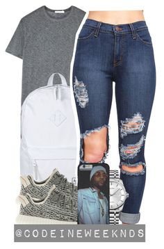 """12/3/15"" by codeineweeknds ❤ liked on Polyvore featuring T By Alexander Wang, Herschel Supply Co., adidas and Calvin Klein"