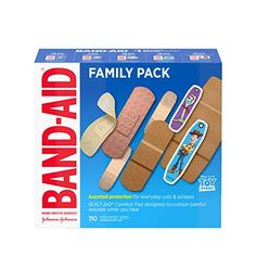 Amazon has the Band-Aid Adhesive Bandage Family Variety Pack in Assorted Sizes Featuring Water Block & Skin Flex, Flexible Fabric, Tough Strips & Pixar Character Bandages, 110 Count priced at $19.94. Clip the coupon and check out using Subscribe & Save to get this for only $9.97 with free shipping. TO GET THIS DEAL: CLICK…