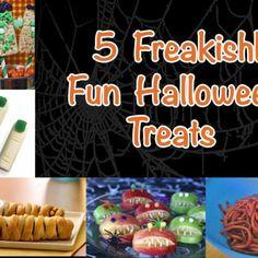 5 Freakishly Fun Halloween Treats for Kids