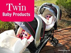 Twin Baby Products; Products for Twins 0-6 Months; Twin Baby Gear