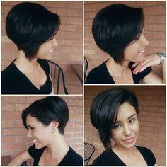 Przeglądamy najpiękniejsze krótkie fryzury asymetryczne z Instagrama.