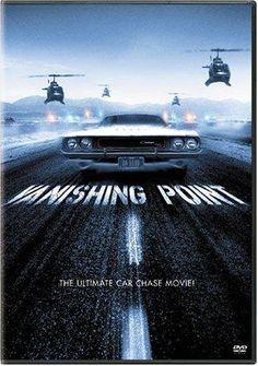 Vanishing Point  - Vanishing Point is a 1971 American action road movie directed by Richard C. Sarafian and starring Barry Newman, Cleavon Little, and Dean Jagger. Kowalski works for a car delivery service. He takes delivery of a 1970 Dodge Challenger to take from Colorado to San Francisco, California. Shortly after pickup, he takes a bet to get the car there in less than 15 hours.