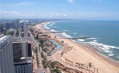 Durban: The Golden Mile Seashore South Afrika, City By The Sea, Kwazulu Natal, British Colonial, Am Meer, West Indies, West Africa, Africa Travel, East Coast