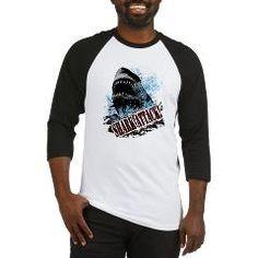 Shark Attack! Baseball Jersey $21.49