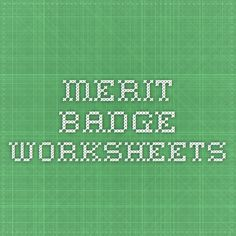 Printables Robotics Merit Badge Worksheet personal fitness merit badge slideshow for answering the workbook worksheets