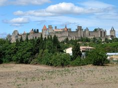Burg, Carcassonne, Frankreich