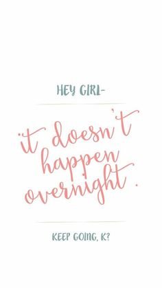 Moving On Quotes : It doesn't happen overnight