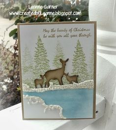 Created By Leanne: May the beauty of Christmas...