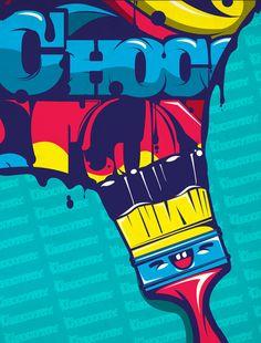 chocotoy by ChocoToy , via Behance