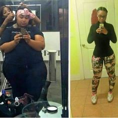 """fit-black-girls: """" Ladies Monday Morning Motivation. Clear proof that with hard work and dedication to a fit #Lifestyle you can only get amazing results. #HardWorkPaysOff  Tag someone who may need..."""