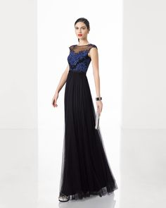 2bcb191fab8 Buy discount Fantastic Lace   Chiffon Bateau Neckline Three-quarter Length  Sleeves Sheath Evening Dresses with Beadings   Rhinestones at Dressilyme…