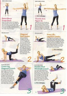 Tracy Anderson Health Magazine Workout