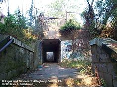 The Linden Ave Stairway and Pedestrian Subway in East Pittsburgh, PA