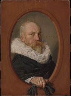 Frans Hals (Dutch, 1582/83–1666). Petrus Scriverius (1576–1660), 1626. The Metropolitan Museum of Art, New York. H. O. Havemeyer Collection, Bequest of Mrs. H. O. Havemeyer, 1929 (29.100.8) #mustache #movember