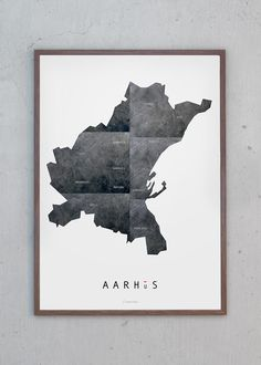 Aarhus Metal - 50x70 from Just Spotted
