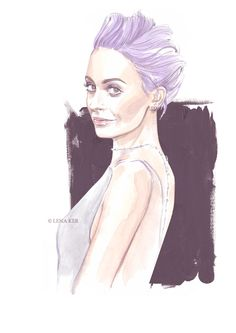 inspiration - Nicole Richie - artworks by Lena Ker