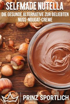 Selfmade Nutella: The healthy alternative to the original # breakfast . - Selfmade Nutella: The healthy alternative to the original # breakfast ideas - Healthy Dessert Recipes, Raw Food Recipes, Smoothie Recipes, Healthy Snacks, Snack Recipes, Nuss Nougat Creme, Pumpkin Spice Cupcakes, Healthy Alternatives, Cravings