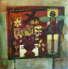 The forgotten Studio: Morag Muir Scottish artist. Fairy Wings, Contemporary, Abstract, Gallery, Paintings, Artists, Studio, Summary, Roof Rack