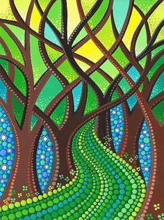 Мотивы и идеи для точечной росписи - Ярмарка Мастеров - ручная работа, handmade