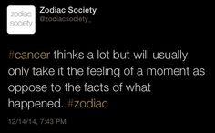 Cancer zodiac facts http://zodiacsociety.tumblr.com Kissing Styles By Zodiac Sign http://zodiac-society.com/kissing-styles-by-zodiac-sign