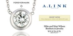#ForevermarkFriday Sprinkle a little love with the #Diamond Dust Necklace from A. Link http://qoo.ly/8ritw/0