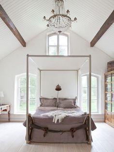 Un dormitorio de ensueño, con aires de farwest