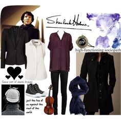 """""""Sherlock Cosplay"""" by fefe1217 on Polyvore"""