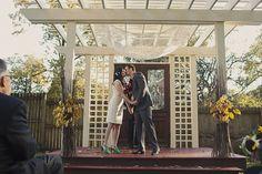 Real Weddings: Avigail and William's Urban Farm Nuptials