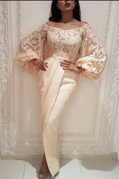 2019 Puffy Sleeves Prom Dresses Pregant Evening Dresses Off the shoulder Long Sleeves Saudi Arab Dub fashion dresses party evening gowns Evening Dresses Uk, Prom Dresses Uk, Prom Dresses Long With Sleeves, Mermaid Prom Dresses, Bridesmaid Dresses, Hijab Evening Dress, Occasion Dresses, Dress Long, Evening Gowns With Sleeves