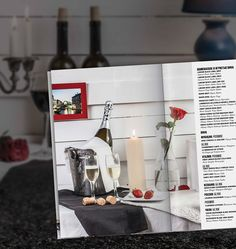 Photo & design for restaurant menu cafe Delmar. Still life for menu, photo shooting and layout design.