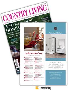 Suggestion about Country Living - UK Nov 2017 page 173