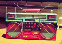 Image about retro music vintage shared by gothlux Radios, 80s Theme, 80s Aesthetic, Aesthetic Vintage, Aesthetic Fashion, Miami Vice, Tumblr, Boombox, Vaporwave