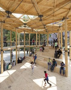 Image 23 of 23 from gallery of House of Switzerland Pavilion / Dellekamp Arquitectos. Photograph by Dellekamp Arquitectos Pavilion Architecture, Wood Architecture, Contemporary Architecture, Chinese Architecture, Futuristic Architecture, Sustainable Architecture, Residential Architecture, Swiss House, Pavillion