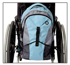 Wheelchair Back Packs - - great site for w/c accessories. From carabeners, to backpacks, to mini-bags