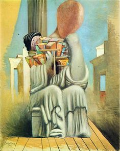 The Terrible Games, Giorgio de Chirico, 1925