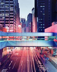 Soho, Hong Kong footbridge